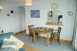 Click here for more information about the dining room area in Tigh Charrann holiday apartment.